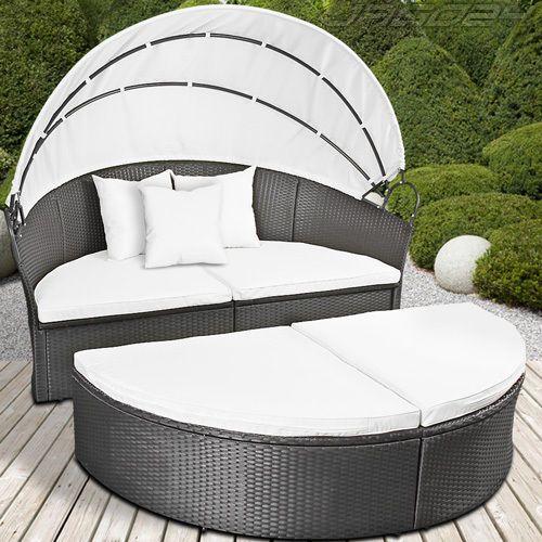 Gartenmöbel Sonneninsel Sonnenliege Gartenlounge Sitzgarnitur - rattan lounge gartenmobel