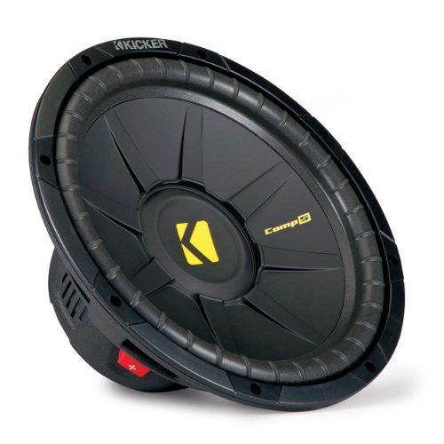 Kicker Comps 10 Inch 600W Car Audio Power 4 Ohm Quad Vented