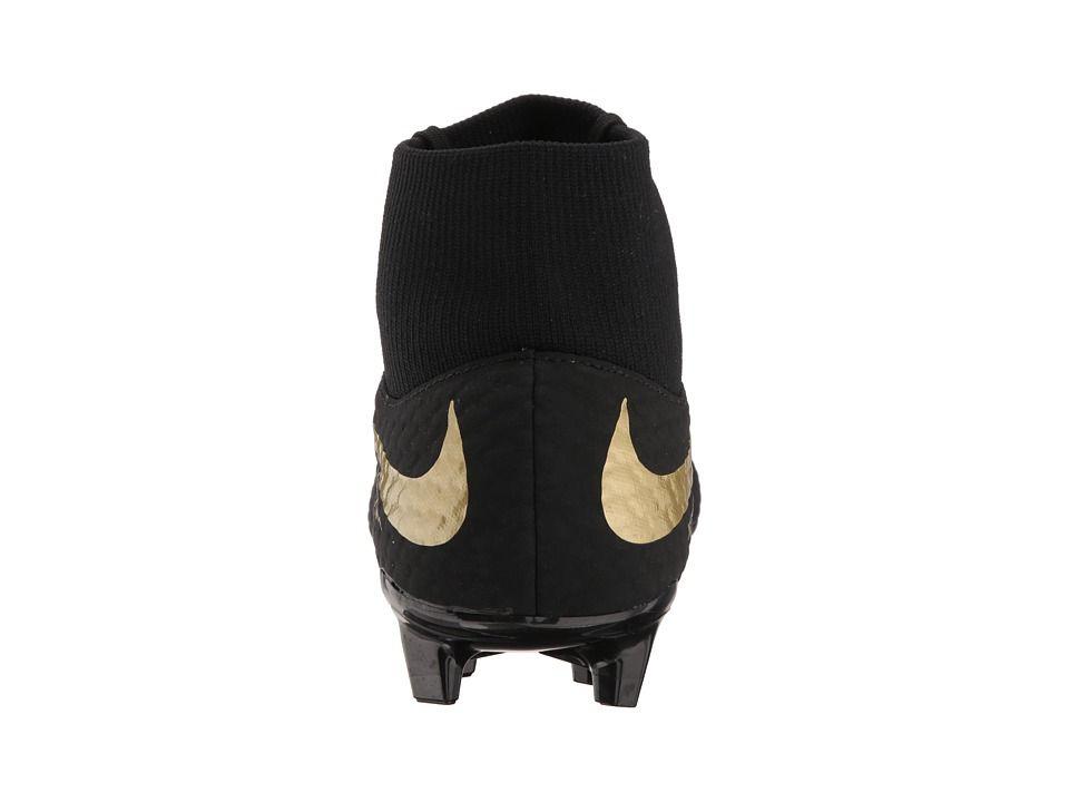 38caa896f82 Nike Hypervenom Phantom 3 Academy Dynamic Fit FG Men s Soccer Shoes Black Metallic  Vivid Gold