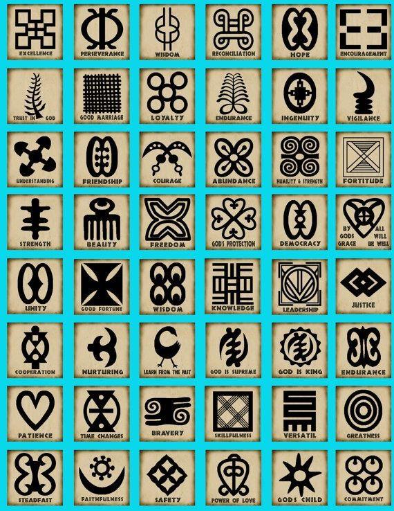 Adinkra Symbols Pinterest Symbols Tattoo And Tatting