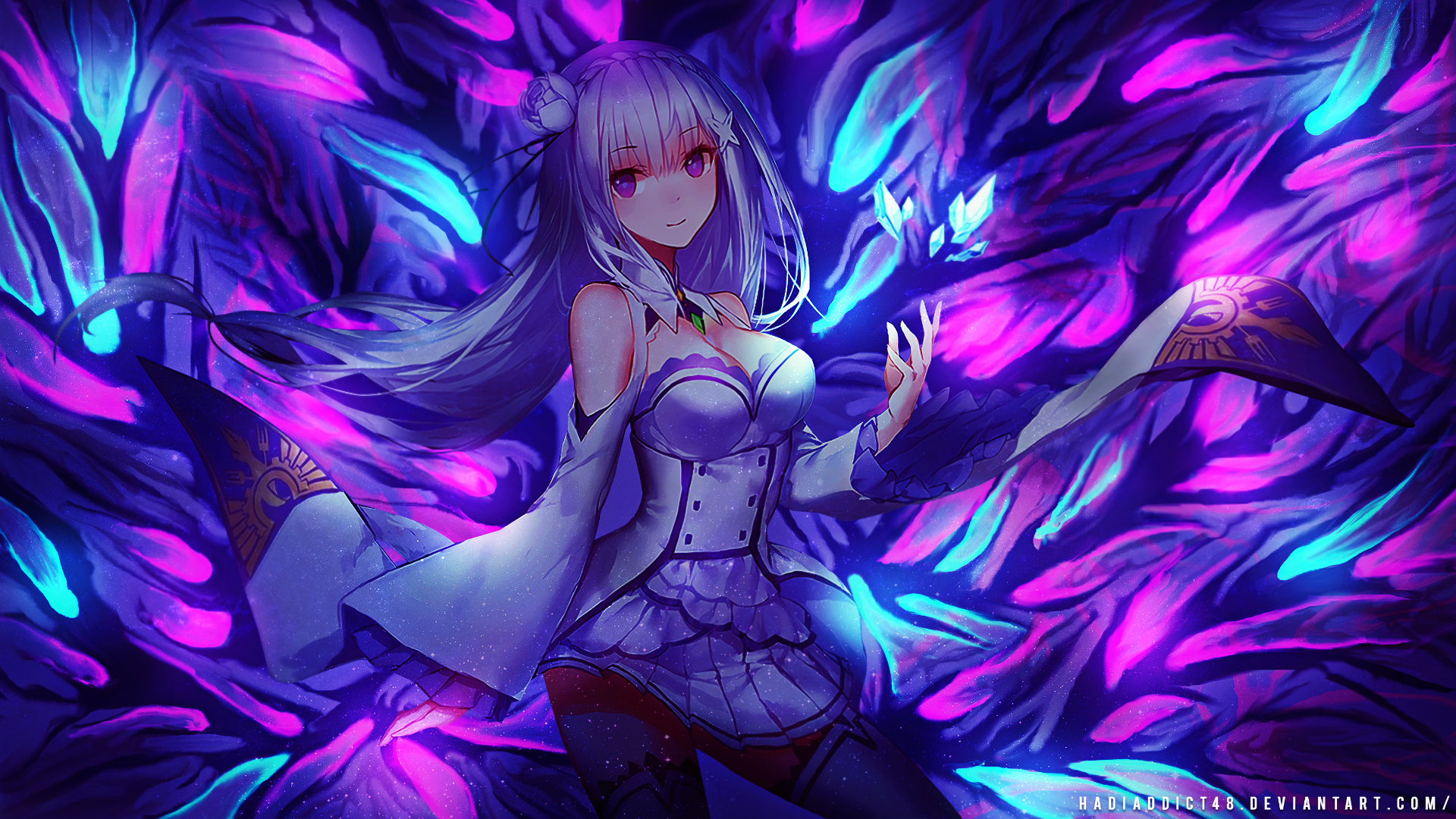 Anime Rezero Starting Life In Another World Emilia Re