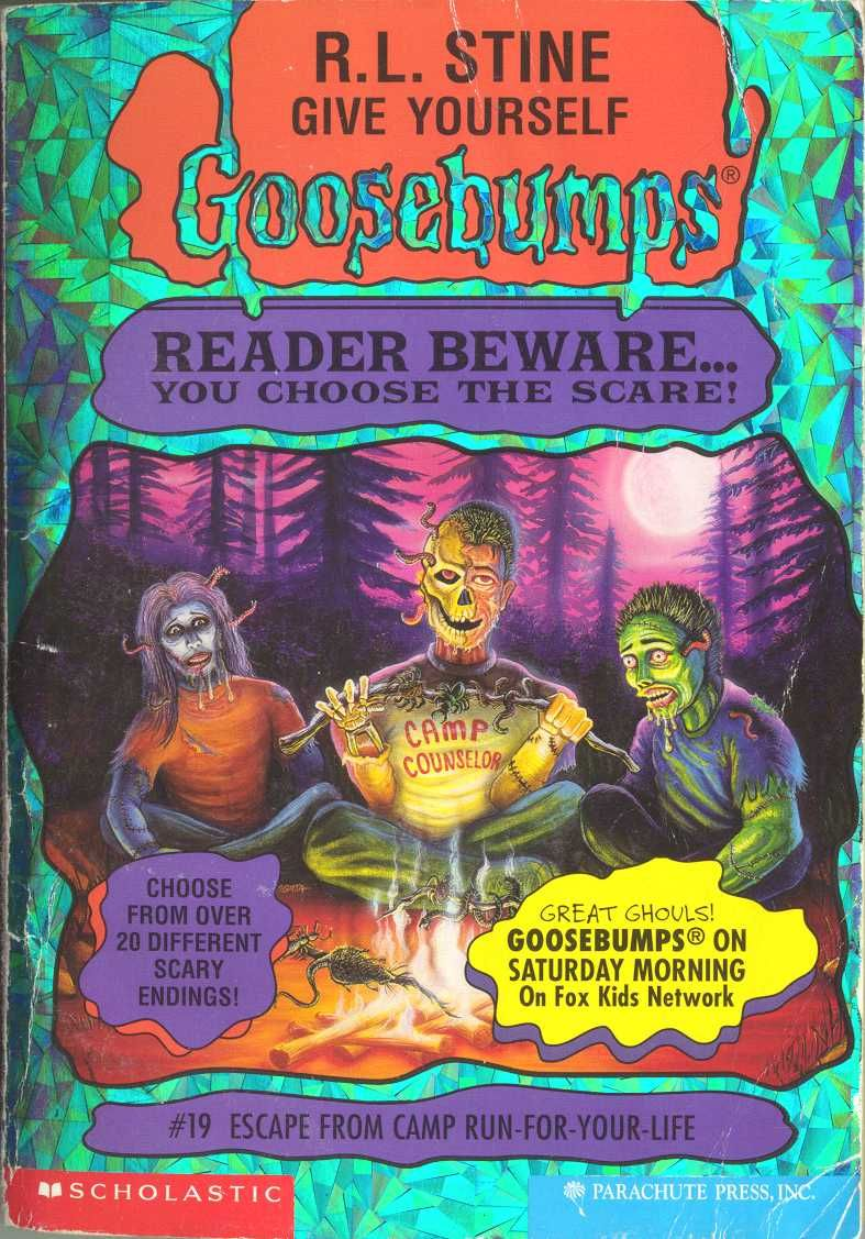 Escape From Camp Run For Your Life Give Yourself Gooseps Series Pinterest