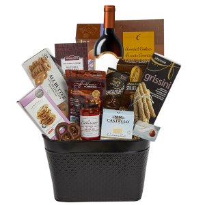 Stratford Wine Gift Basket Wine gifts, Gift baskets
