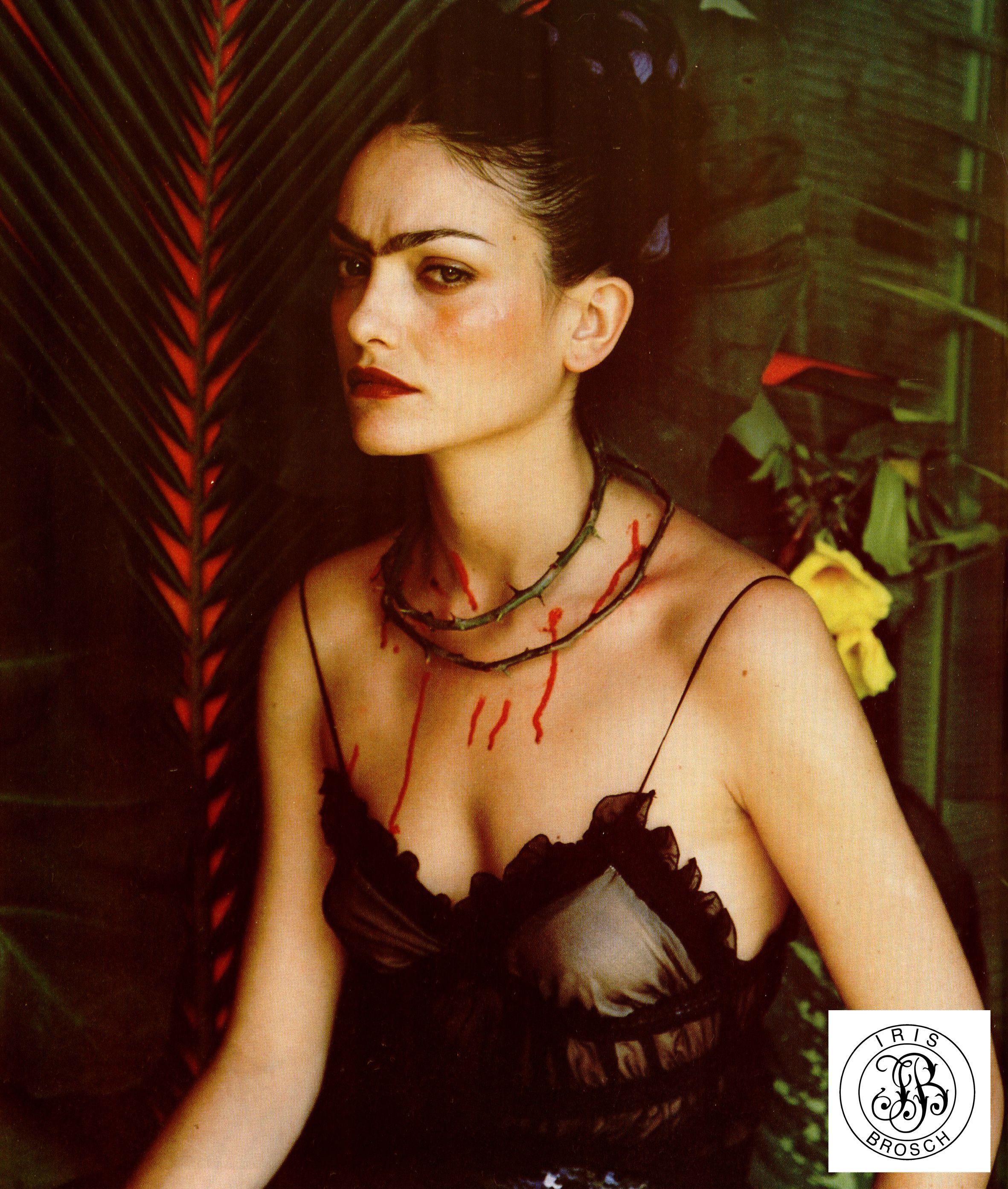Frida Kahlo for L'Officiel Paris
