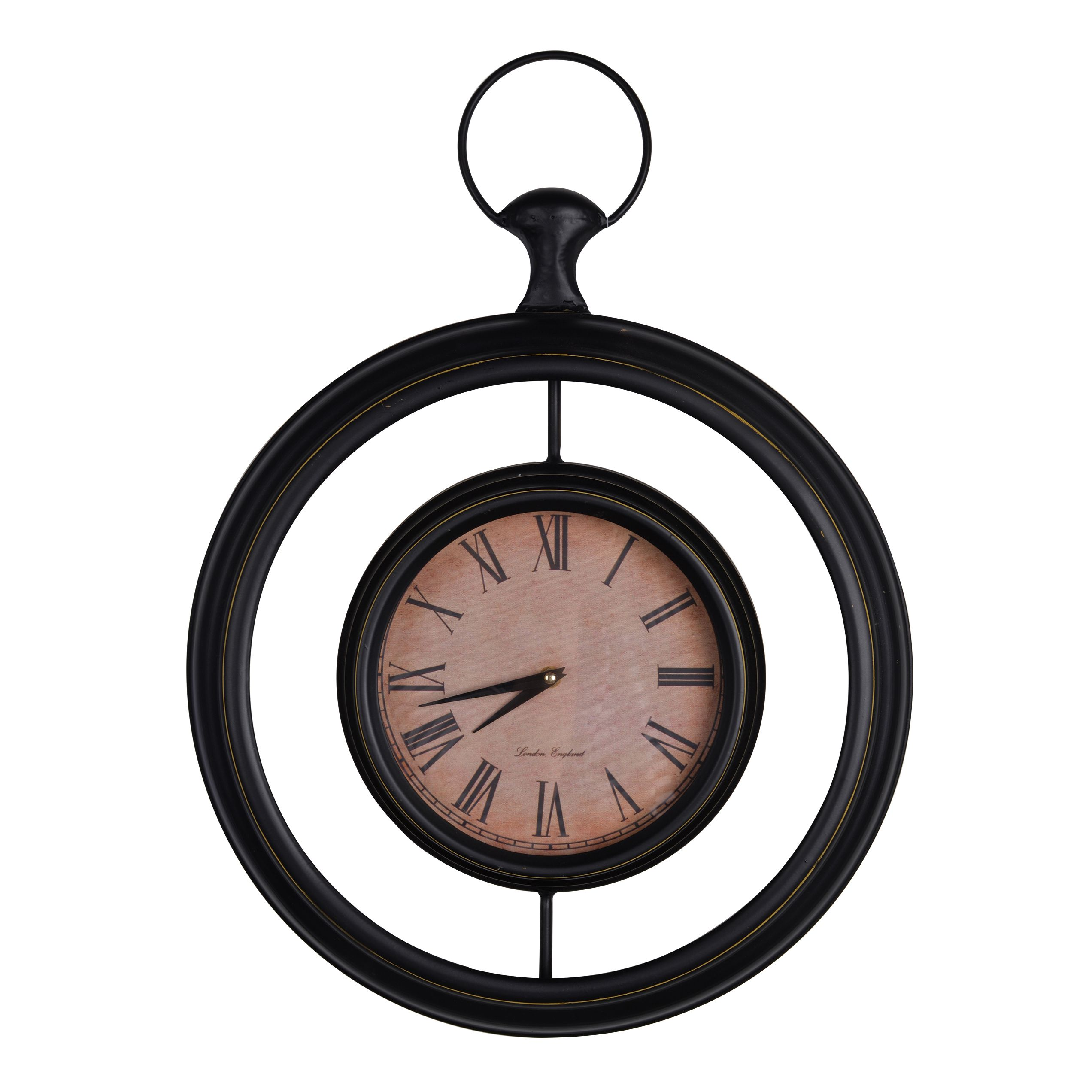Hardin Wall Clock 18 X2 X25 Metal Wall Clock A B Home Wall Clock