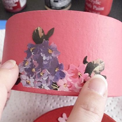 Box of Love- Decoupage Projects for Valentine's Day
