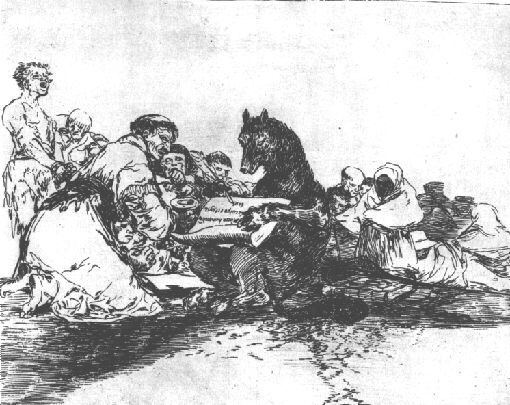 """Francisco Goya """"This is still worse!"""" from Disasters of War series"""