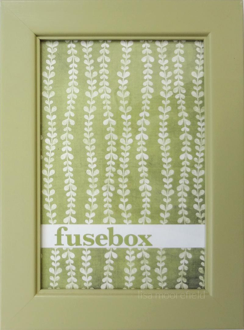 diy fuse box cover for the walls covered boxes. Black Bedroom Furniture Sets. Home Design Ideas