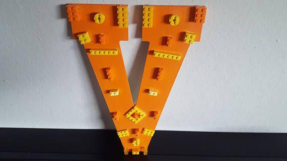 Caution.. Orange V Boy Wall Decor