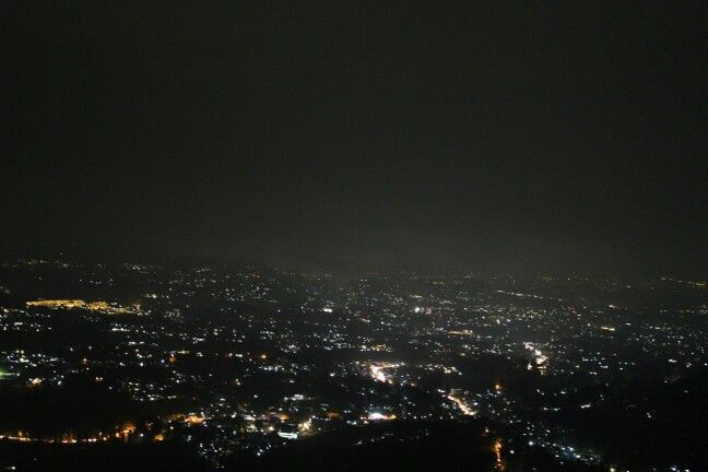 City light from the top! Puncak, West Java   Mountain ...