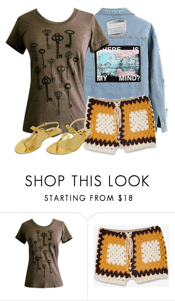 """Amscray"" by miss-oliveira ❤ liked on Polyvore featuring American Apparel, American Vintage and Dolce&Gabbana"