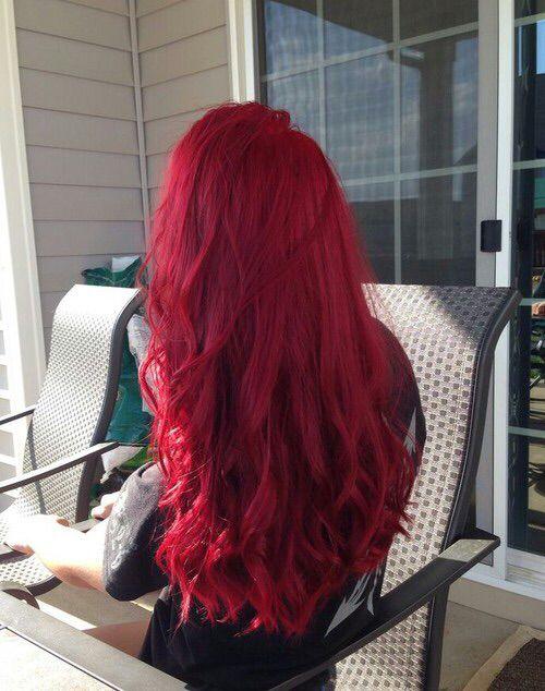 Via Tumblr Hair Styles Pink Hair Dye Red Hair Color