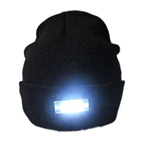 Eastlion 5 LED Flashlight Keep Warm Light Beanie Hat Cap for Hunting ... e10eaaf92522