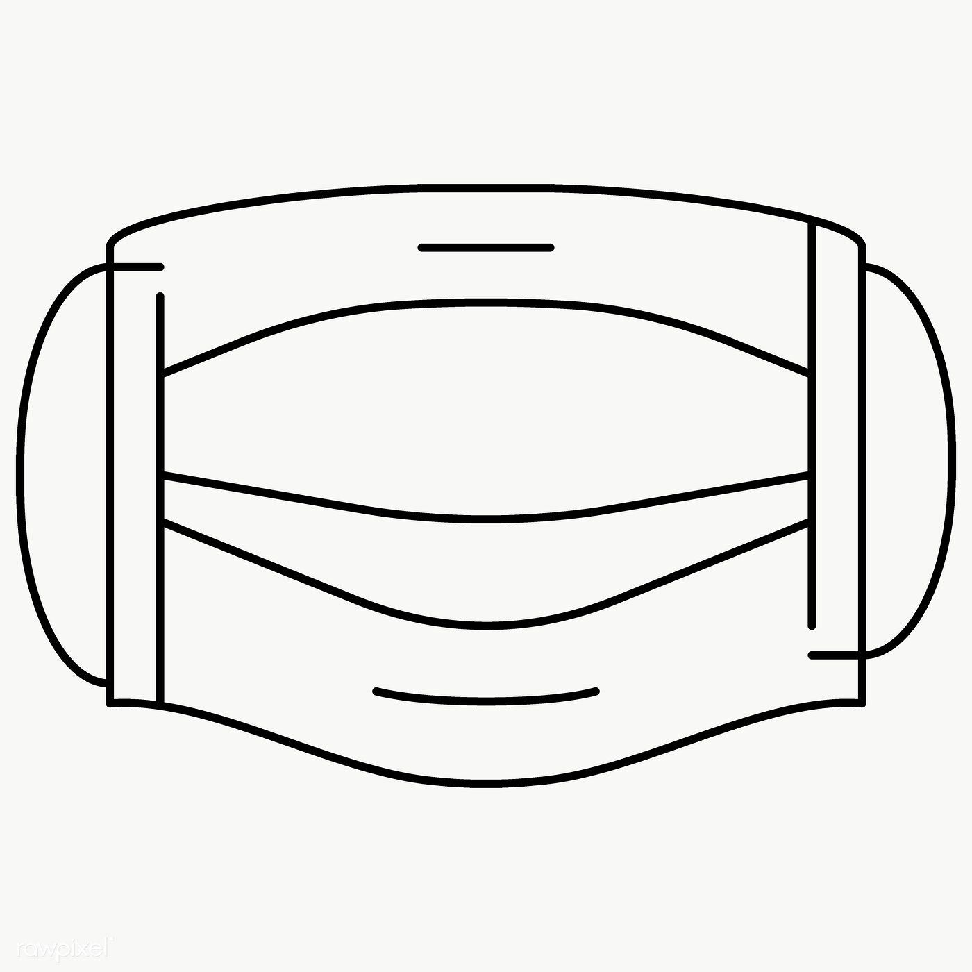 Surgical Face Mask Element Transparent Png Free Image By Rawpixel Com Katie Face Mask Set Mask Face