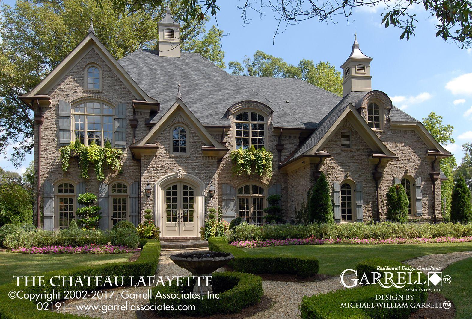 Chateau Lafayette House Plan 02191 Garrell Associates Inc French Country House Plans French Country House Luxury House Plans