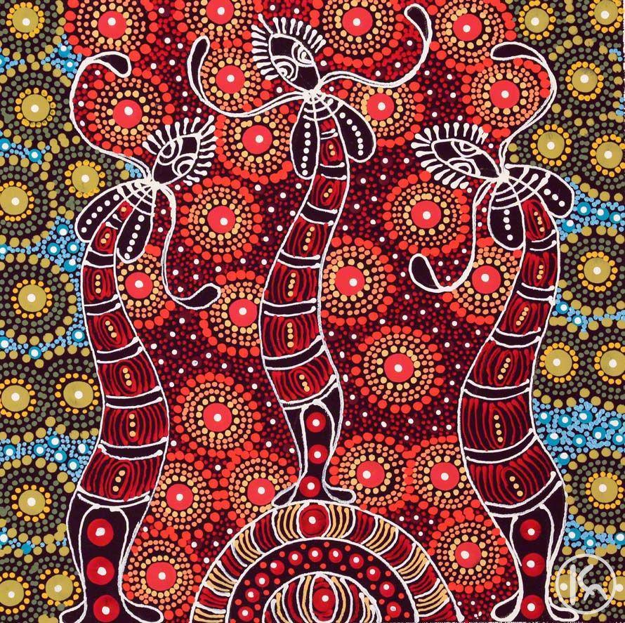 how to draw aboriginal paintings