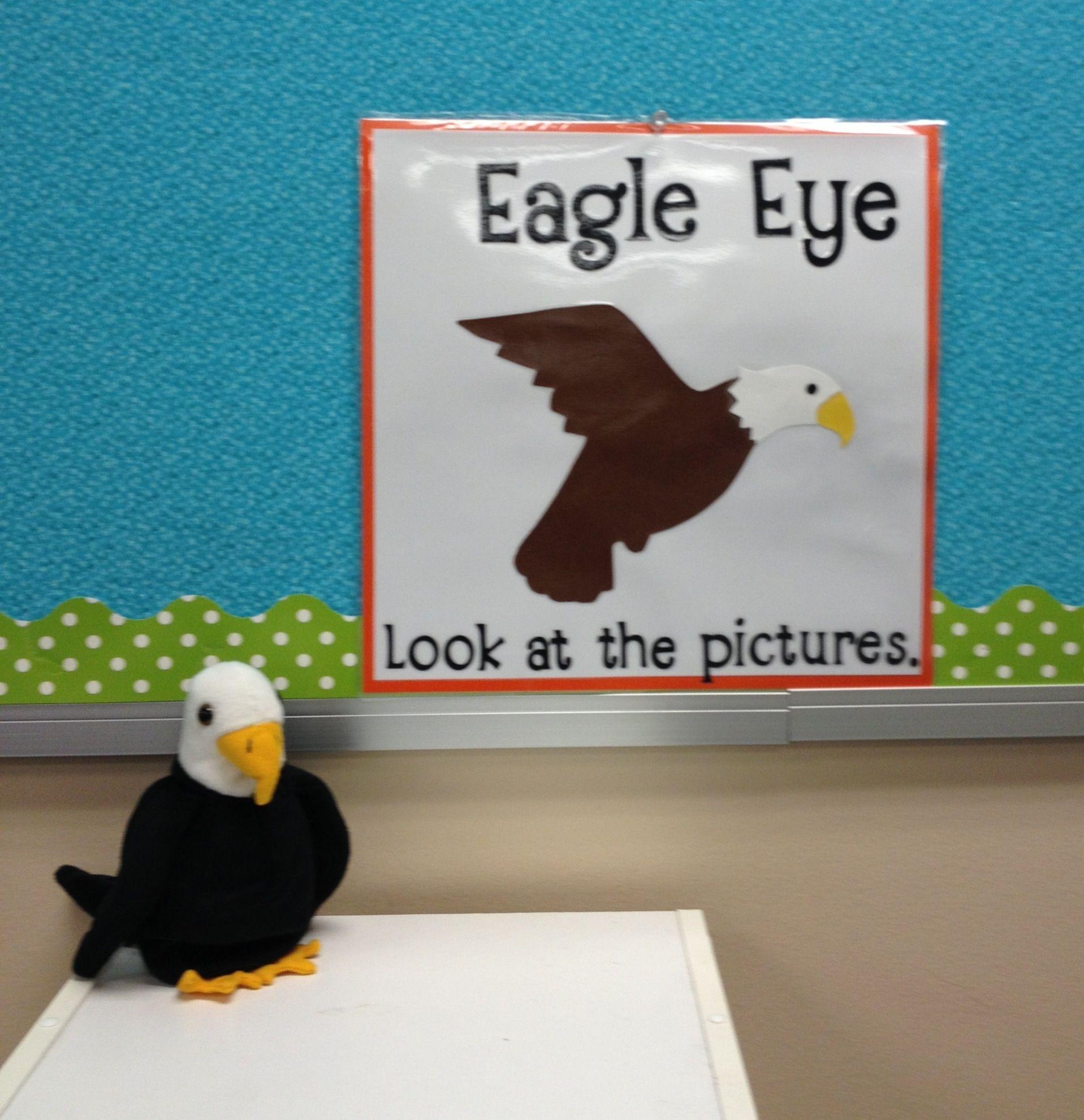 Reading Strategy Eagle Eye
