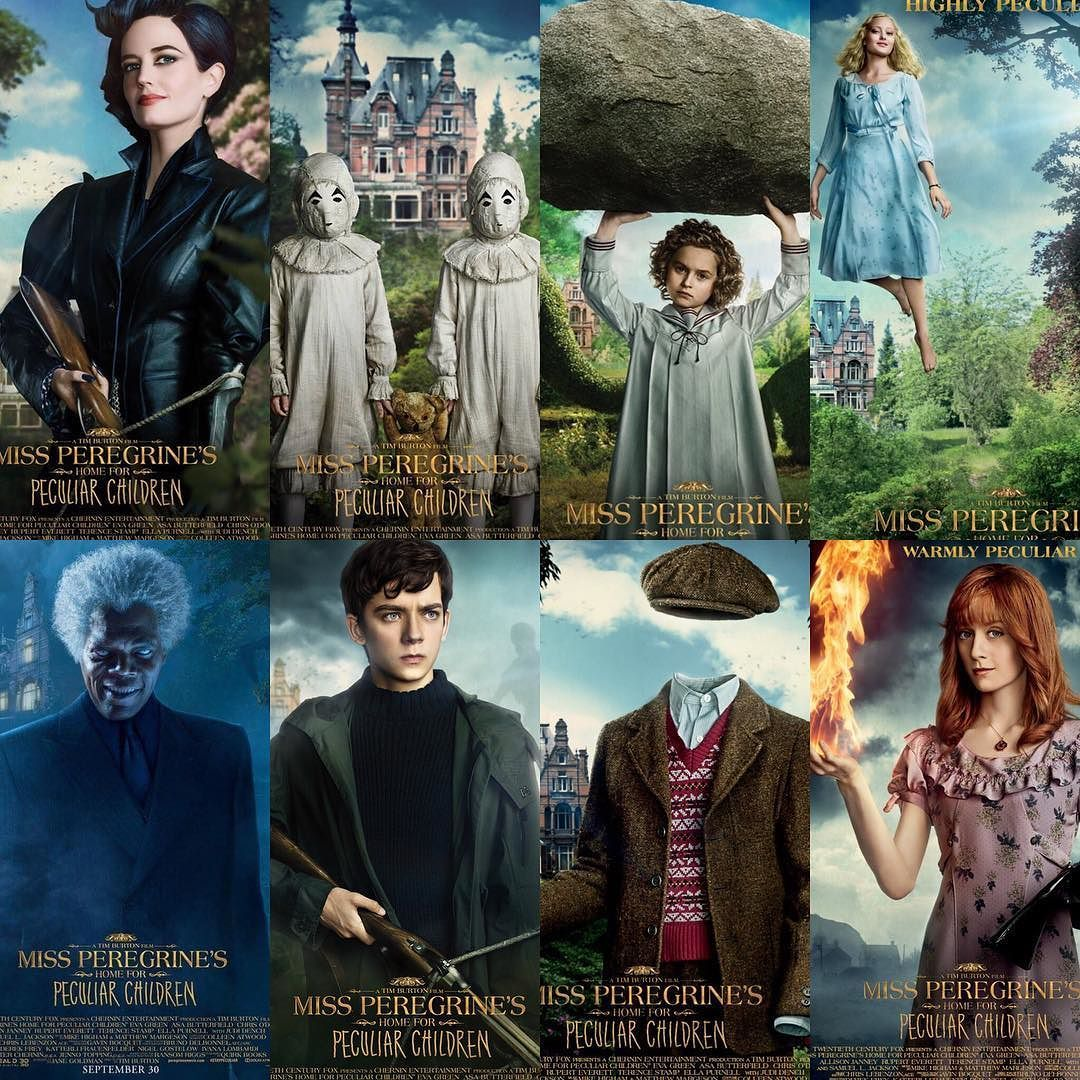 Pin On Miss Peregrine S Home For Peculiar Children