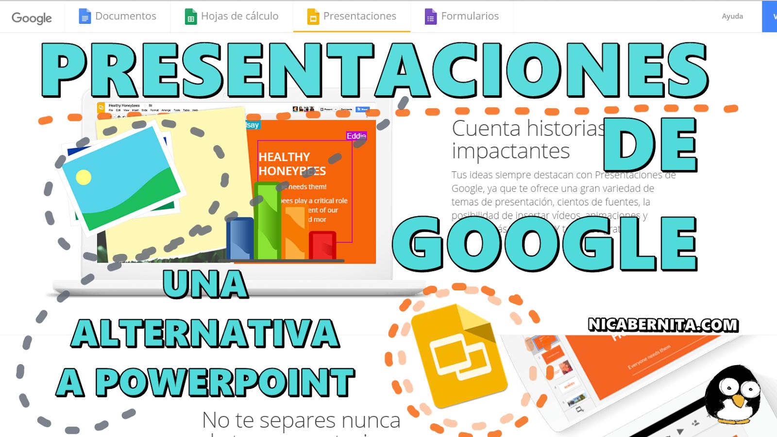 Portadas Para Cuadernos Y Libretas Con DiseÑos Marinos: PRESENTACIONES De Google 💻 Una Alternativa Gratuíta A