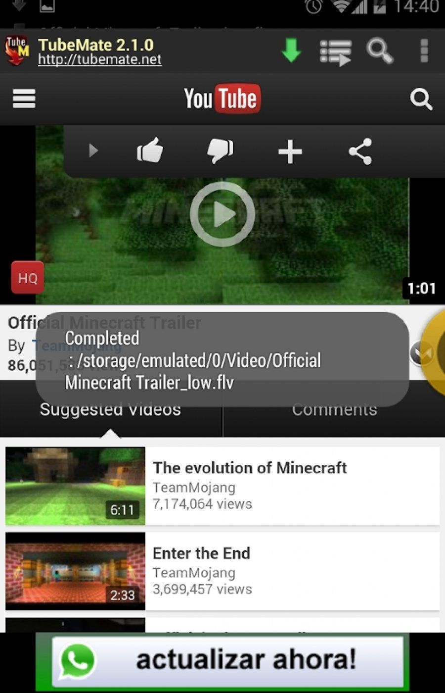 minecraft download youtube 2018