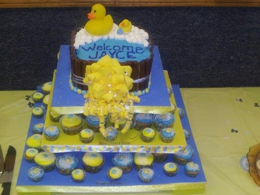 Nia Maeu0027s Gourmet Baby shower cake I made for my God son Sweets n - baby shower nia