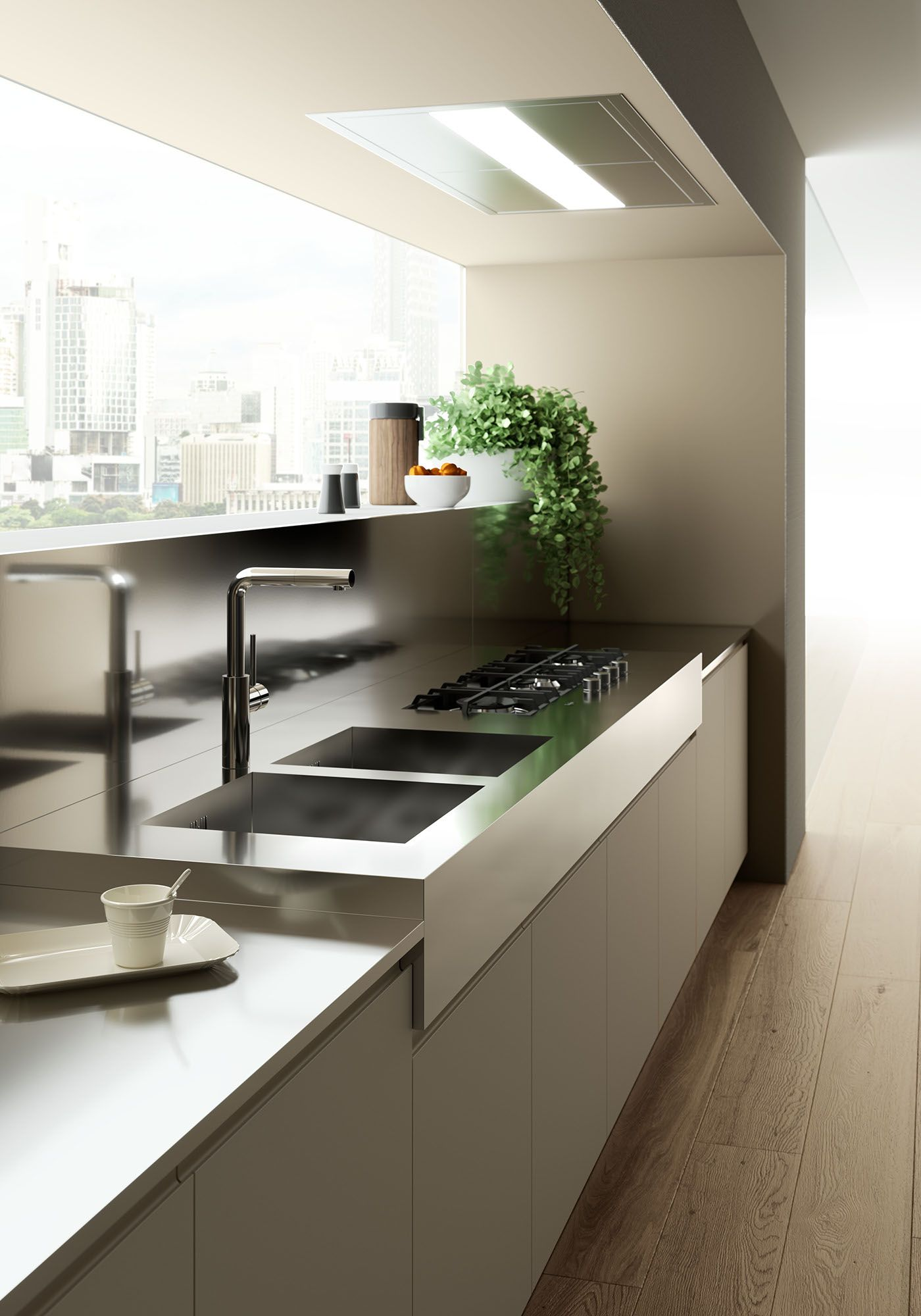 Kitchen on behance for the home cocinas modernas for Gabinetes de cocina modernos