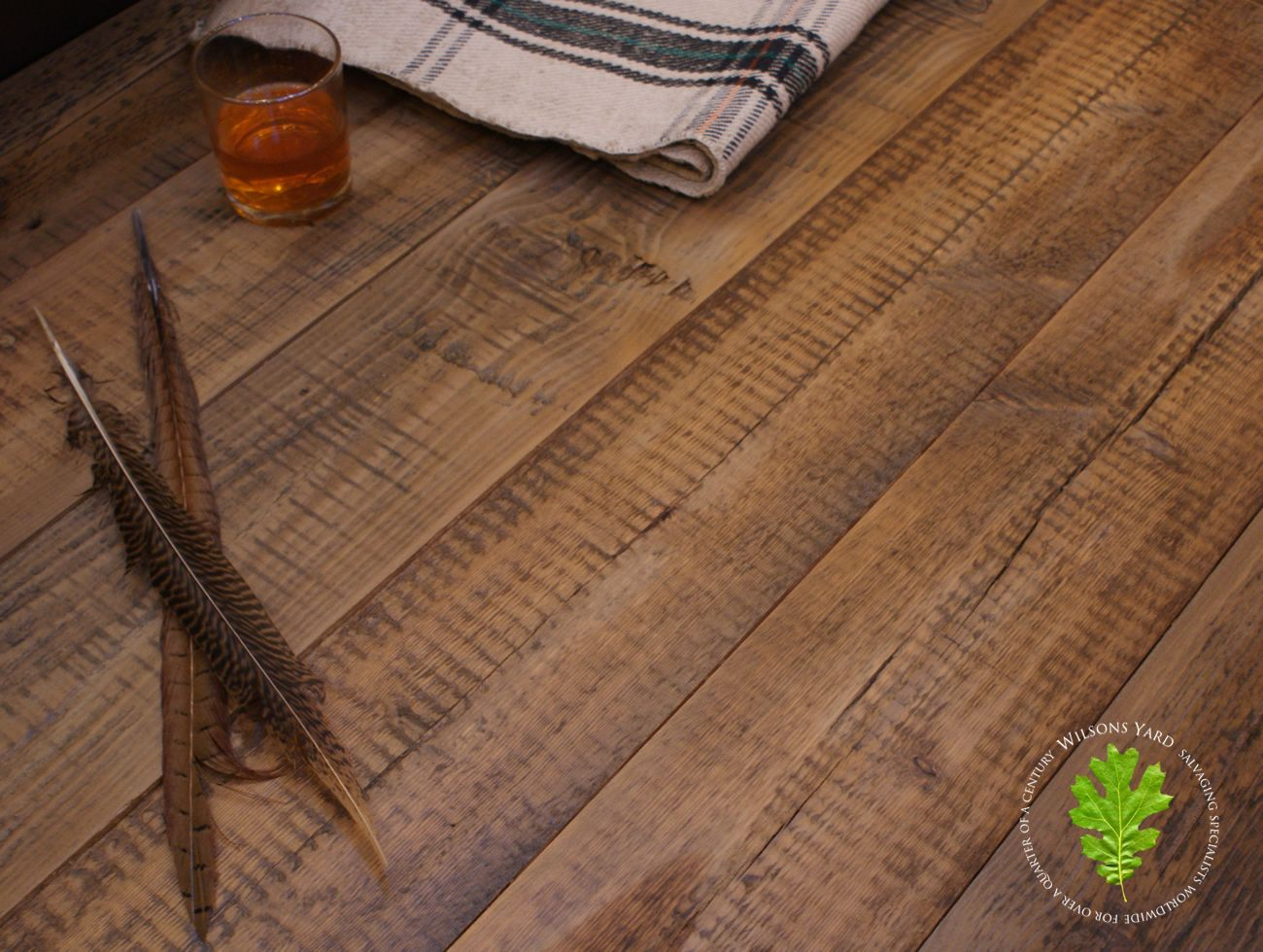 Old Plank Flooring Reclaimed Timber Floors Salvaged From An Whiskey Distillery In Scotland