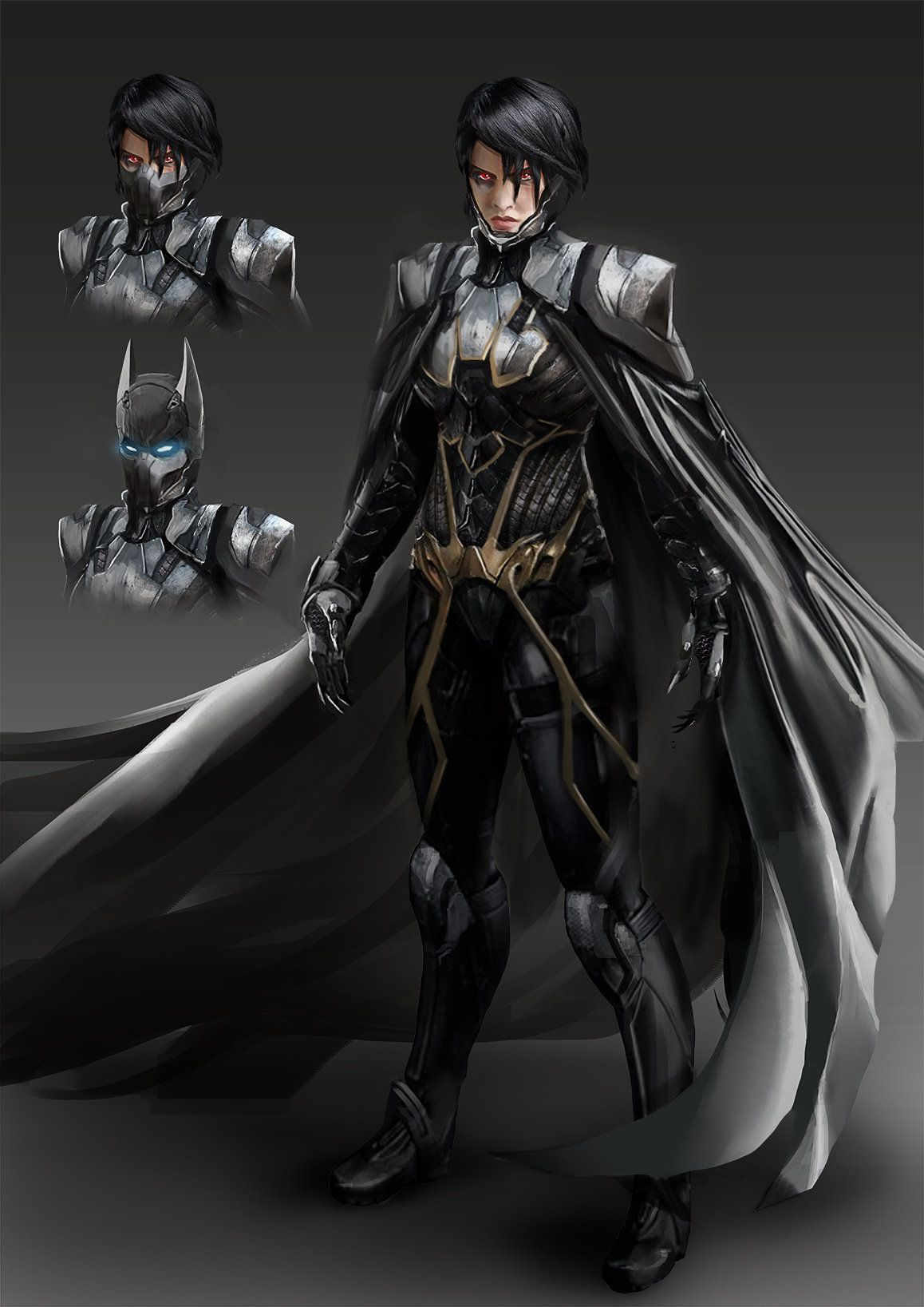 Batgirl redesign | Batgirl, Cassandra cain, Batman