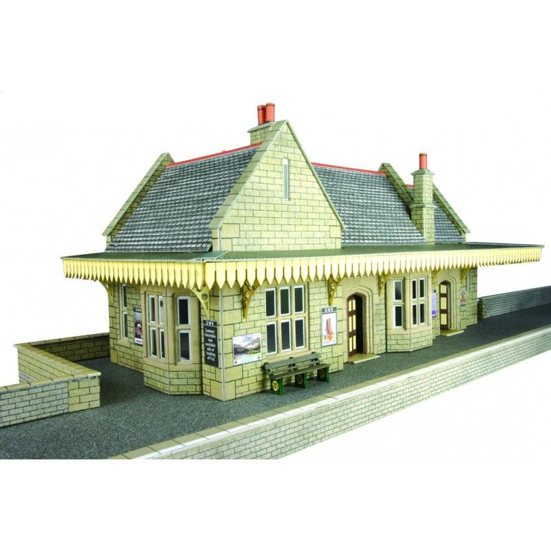 00 Gauge Railway Kits - 00/H0 Stone Built Wayside Station - Railway Models u0026  sc 1 st  Pinterest & 00 Gauge Railway Kits - 00/H0 Stone Built Wayside Station ...