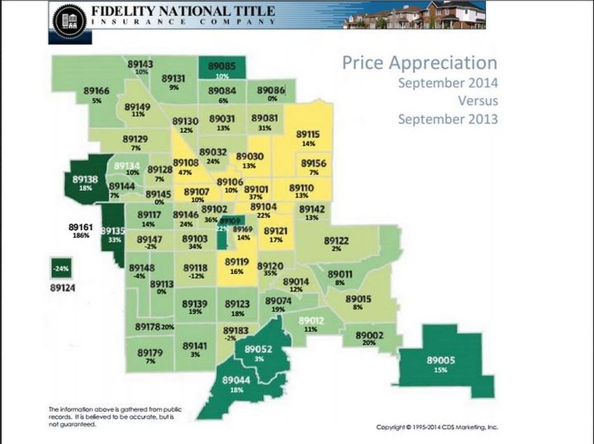 Home prices continue to appreciate year over year in most