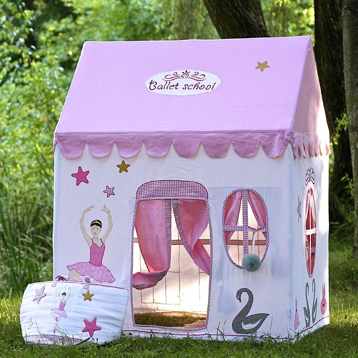 Casita de juegos ballet casitas de tela para jugar - Casita tela ninos ...