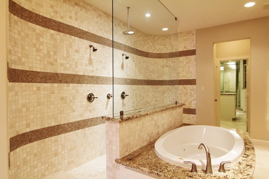 Pin By James Hueston On Dream Home Bathroom Double Shower Master Shower Double Shower Heads