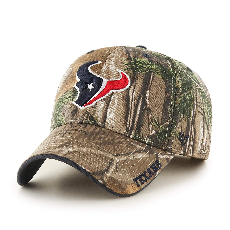 f9408d95385819 47 NFL Houston Texans Frost MVP Camo Adjustable Hat, $23.99 ...