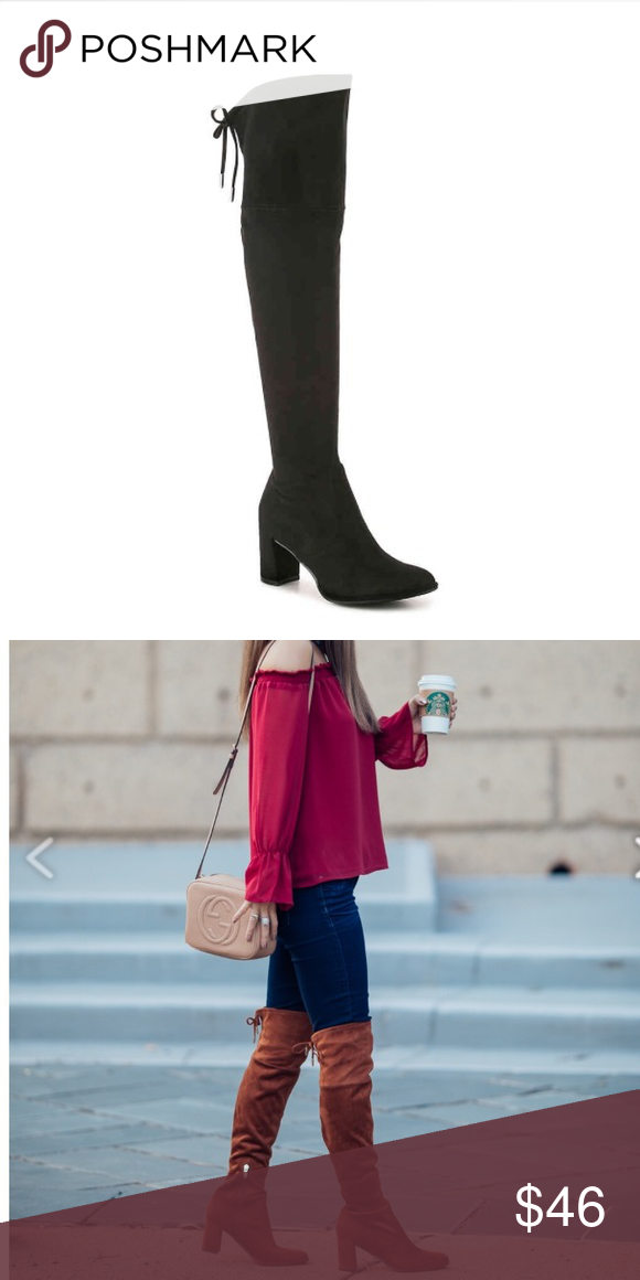8b2cb280701 Marc Fisher Lencon over the knee boots These are SO comfy and stay up great!