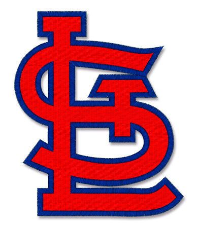 St Louis Cardinals Embroidery Design Machine Embroidery Files And