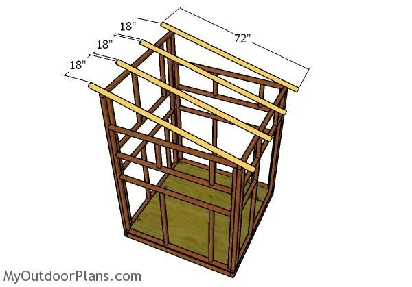 5x5 Shooting House Plans MyOutdoorPlans