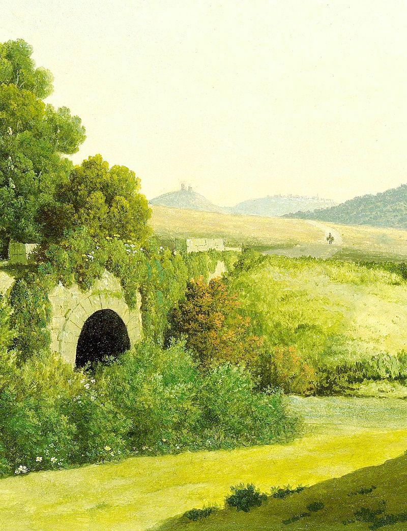 Ponte Loreto Near Nettuno Detail Thomas Jones Thomas Jones Art World Art For Art Sake