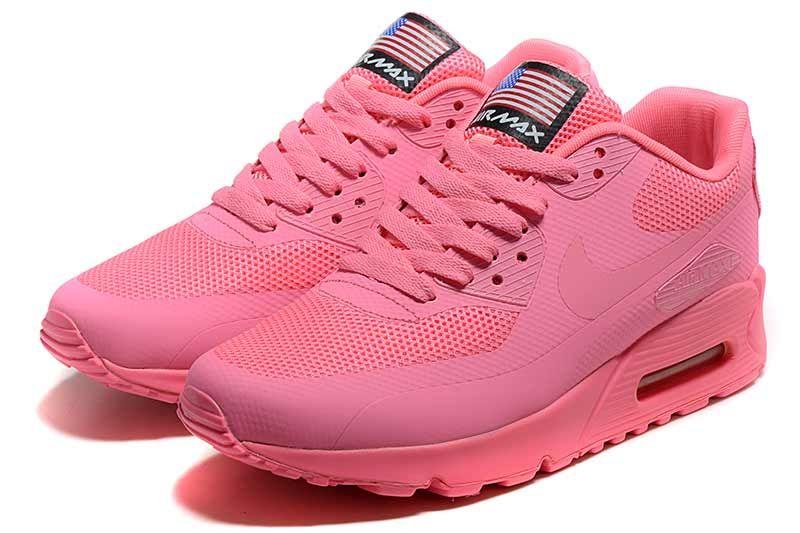 Nike Air Max 90 de zapatos de las mujeres de 90 color rosa 5013 Nike a52fb2