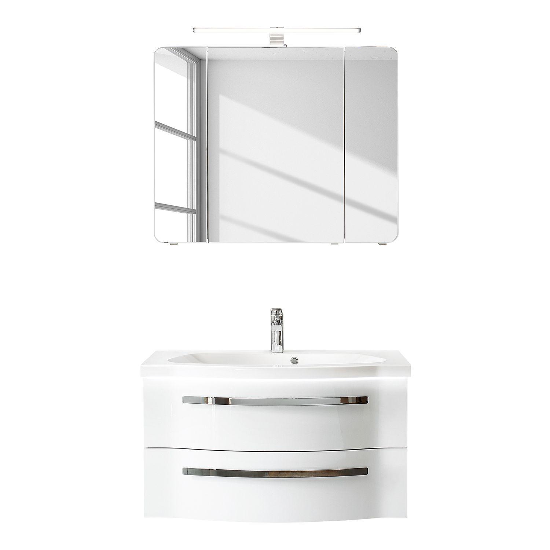Badezimmerset Fokus 4005 Iii 2 Teilig Waschbeckenunterschrank Waschtisch Set Unterschrank