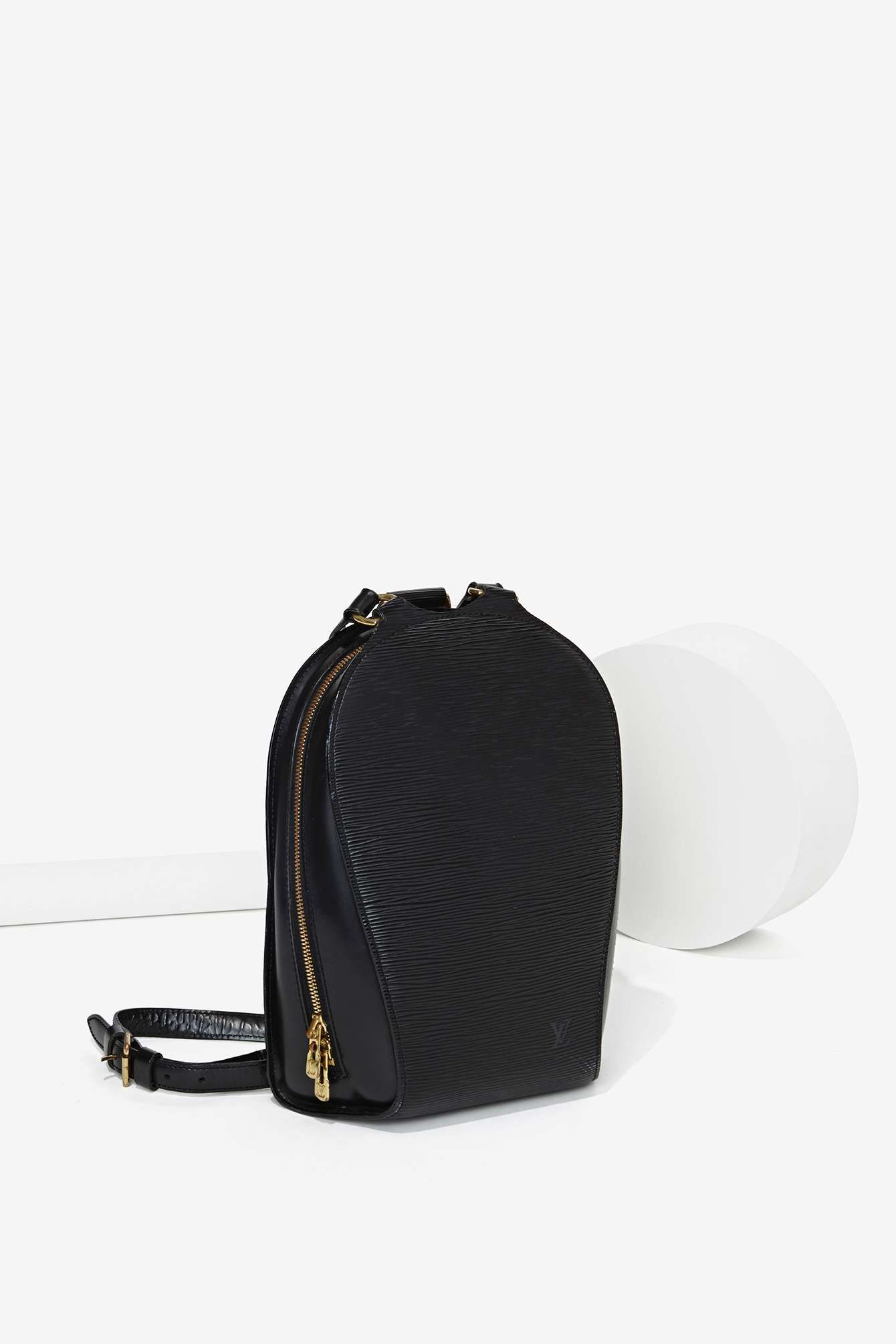 fa4868dd2106 Vintage Louis Vuitton Epi Leather Backpack  Dramatic Classic Gamine ...