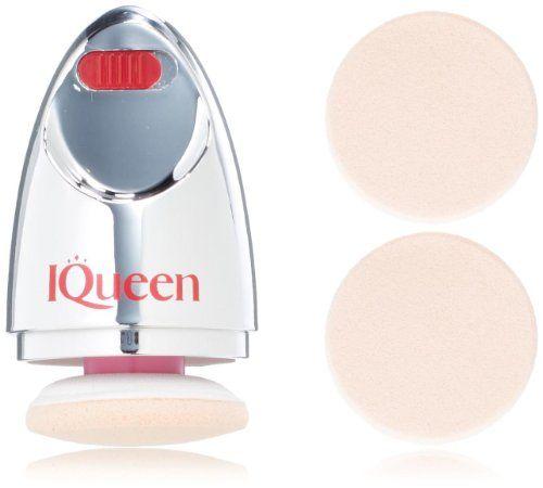 Iqueen Portable Vibrating Makeup Puff Applicator, 77 Gram