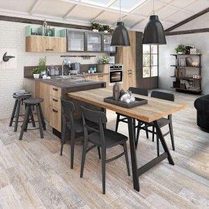 Arredamento cucine piccole cose di casa arredare for Arredamento industrial chic