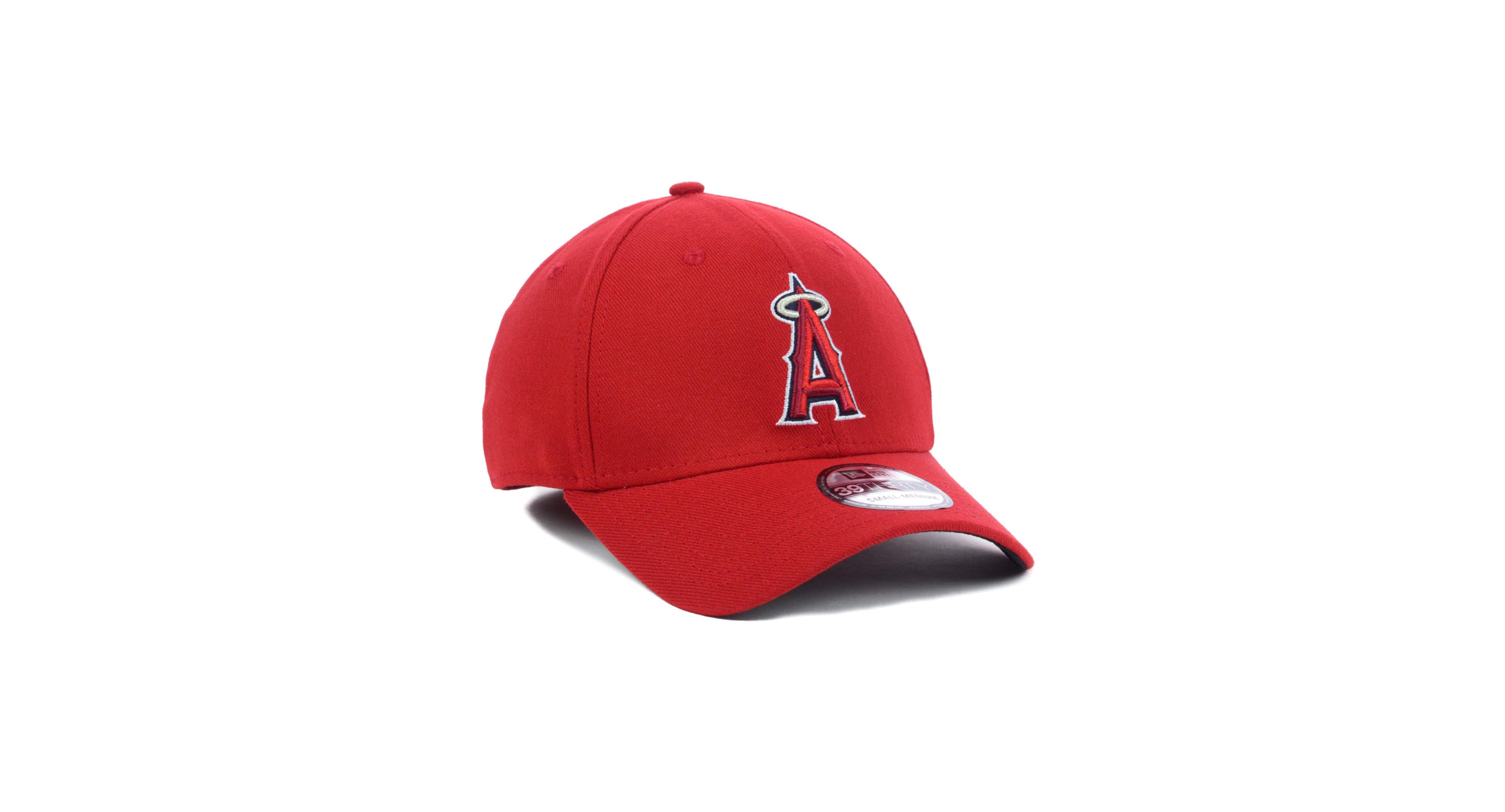 buy cheap fda95 12804 New Era Los Angeles Angels of Anaheim Mlb Team Classic 39THIRTY Cap