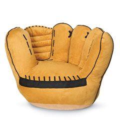Fine Baseball Glove Chair Kids Room Softball Room Chair Gamerscity Chair Design For Home Gamerscityorg