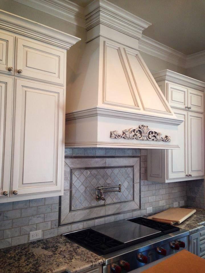 glazed cabinets in light grey glaze #glazedcabinets # ...