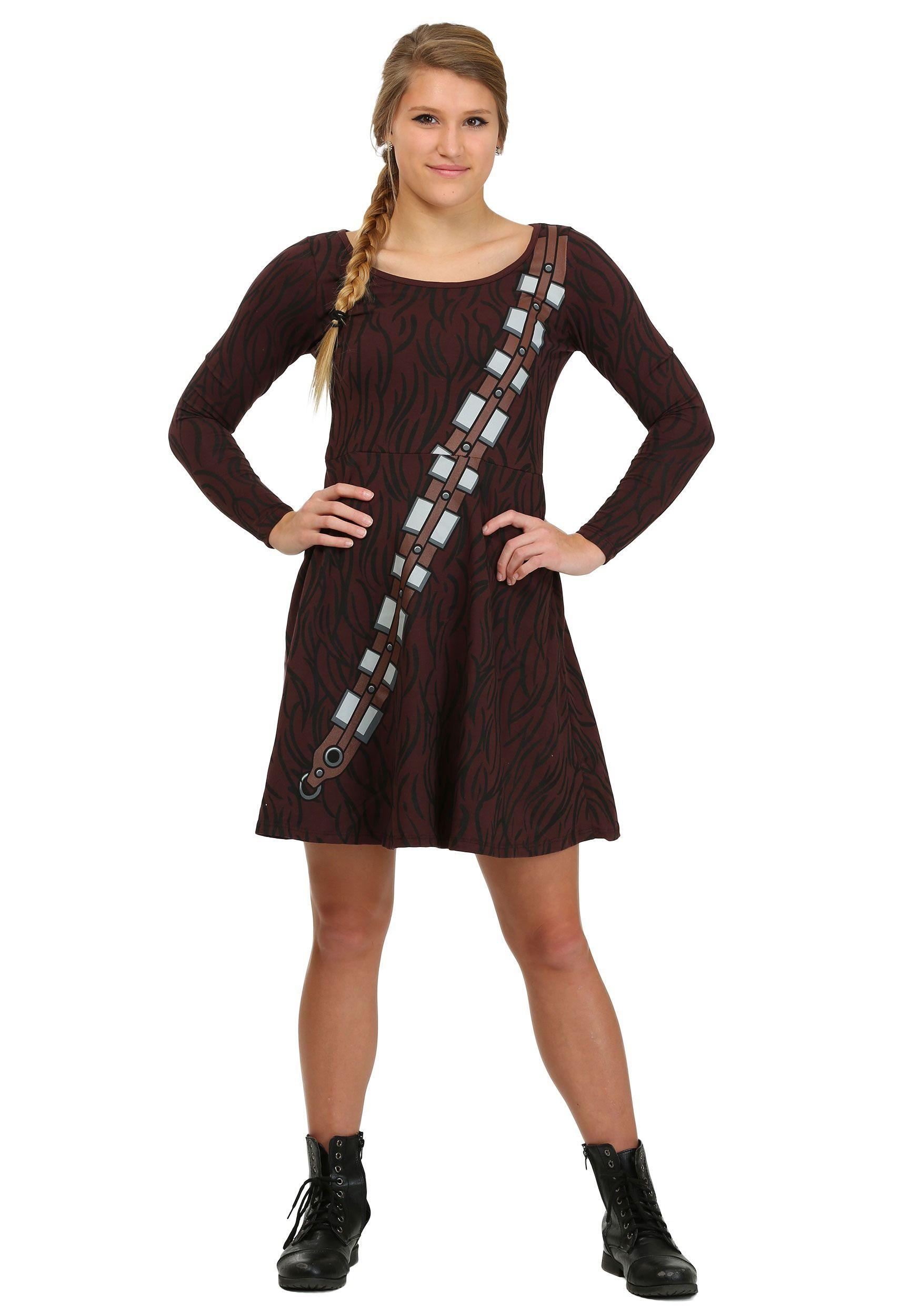 I am Chewbacca Juniors Skater Dress | Women Costumes Fantasy ...