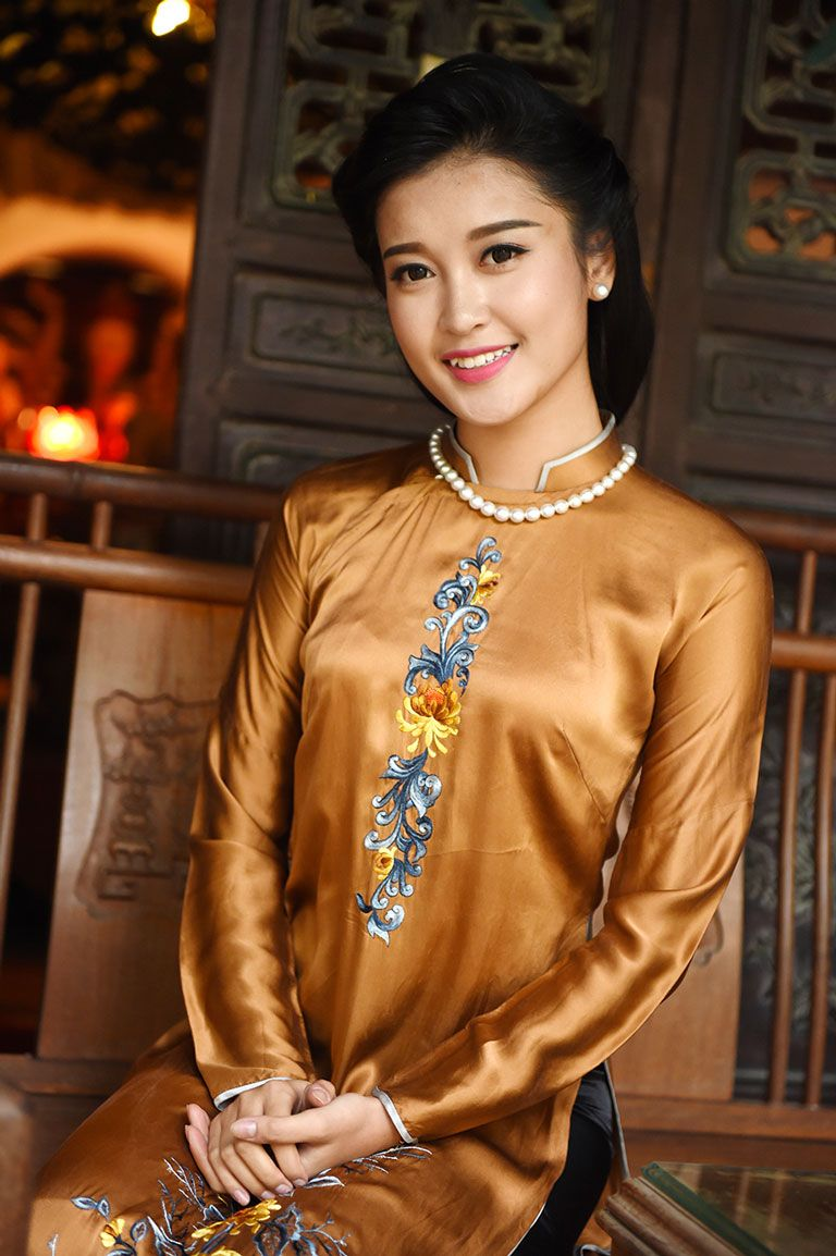 Pin by vivian on vn long dress in pinterest ao dai asian