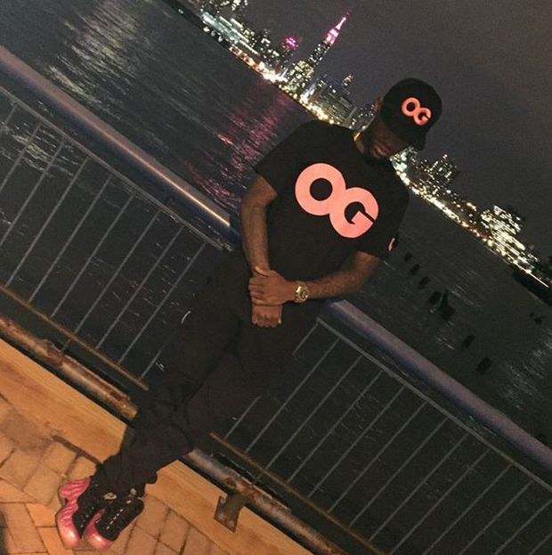 Fabolous in the Nike Air Foamposite One Polarized Pink