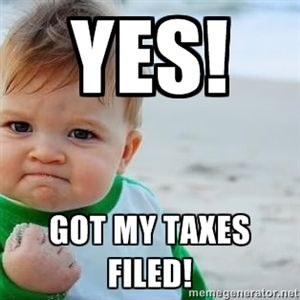 Yes Got My Taxes Filed Fist Pump Baby Repin By At Social Media Marketing Pinterest Marketing Specialists Atsocialmedia Co Uk Succes