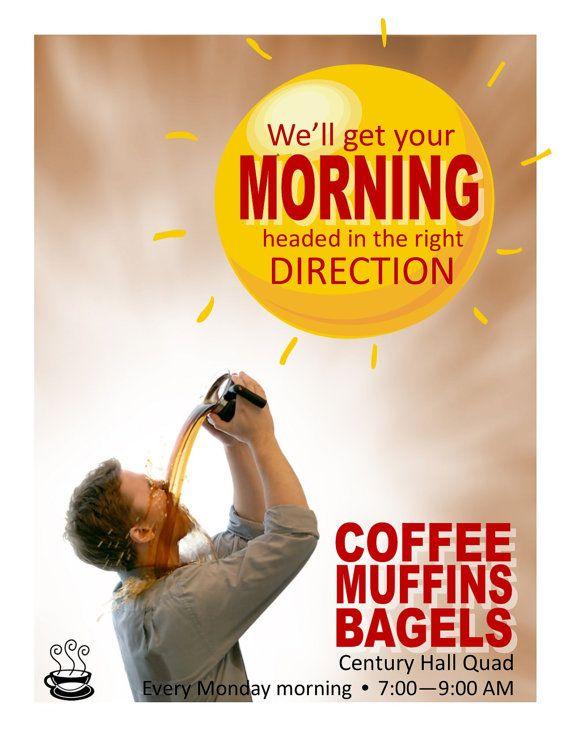 morning coffee program flyer ra program ideas and corresponding